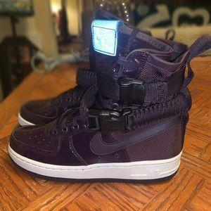 Purple Nike W SF Air Force 1 SE PRM Sneakers